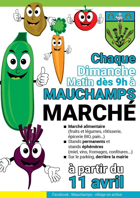 flyer marche web